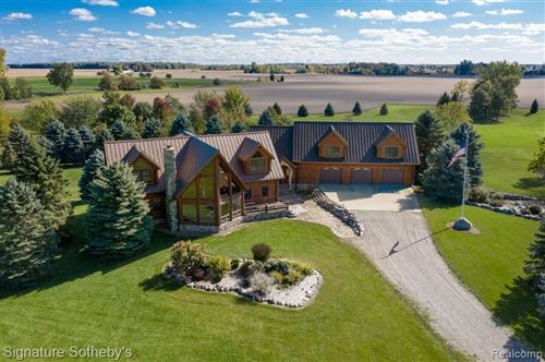 Photo of 6340/6350 WOLF RD, Brown City, MI 48416- (MLS # 40115297)