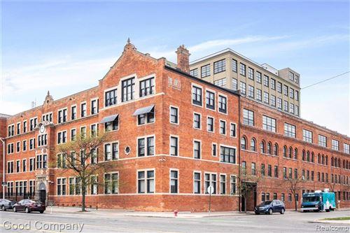 Tiny photo for 6533 E JEFFERSON AVE, Detroit, MI 48207-4458 (MLS # 40244324)