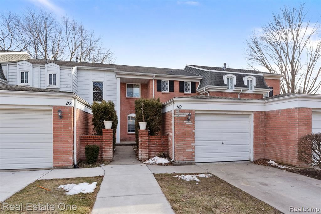 119 MANOR WAY, Rochester Hills, MI 48309 - #: 40034331