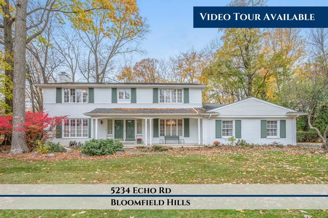 Photo for 5234 ECHO RD, Bloomfield Township, MI 48302- (MLS # 40128341)