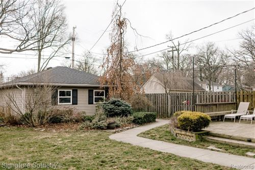 Tiny photo for 483 W CAMBOURNE ST, Ferndale, MI 48220-1771 (MLS # 40039371)