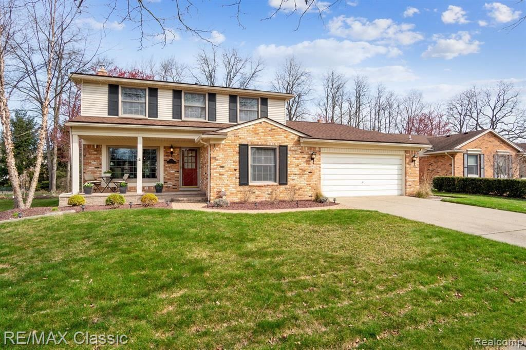 46210 ROCKLEDGE DR, Plymouth, MI 48170- - #: 40161449