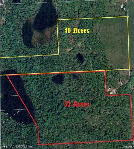 Photo of 40 acres FICK RD RD, Lapeer, MI 48446- (MLS # 40124529)