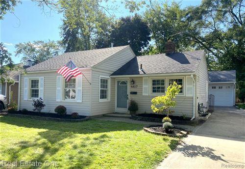 Photo of 4417 OLIVIA AVE, Royal Oak, MI 48073-1605 (MLS # 40104571)