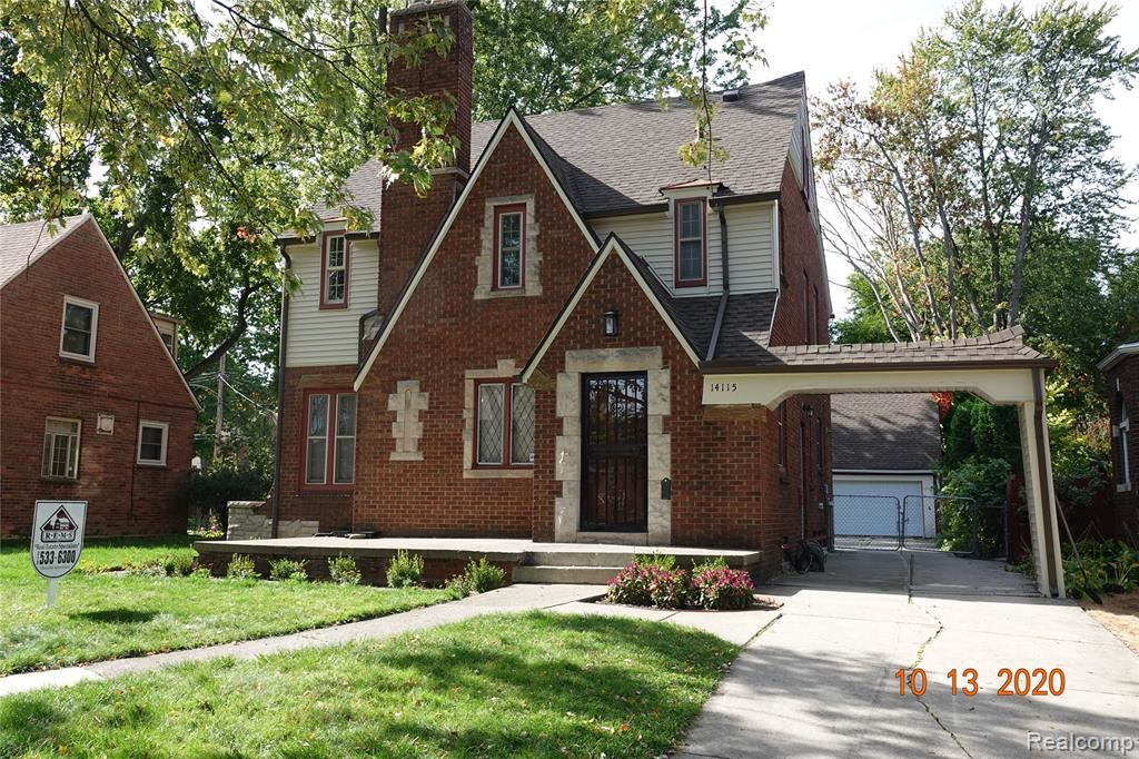 Photo for 14115 WOODMONT AVE, Detroit, MI 48227-1325 (MLS # 40114645)