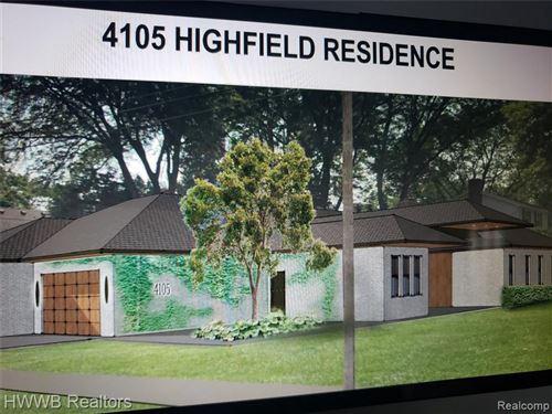 Photo of 4105 HIGHFIELD RD, Royal Oak, MI 48073-6480 (MLS # 40127724)