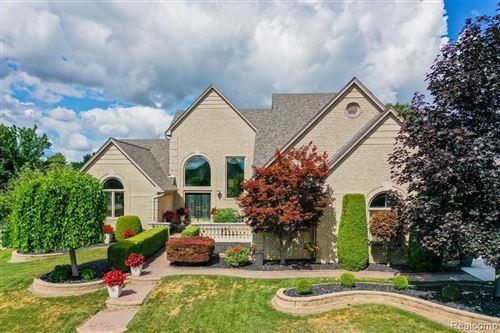 Photo of 54583 BURLINGTON DR, Shelby Township, MI 48315-1622 (MLS # 40079773)