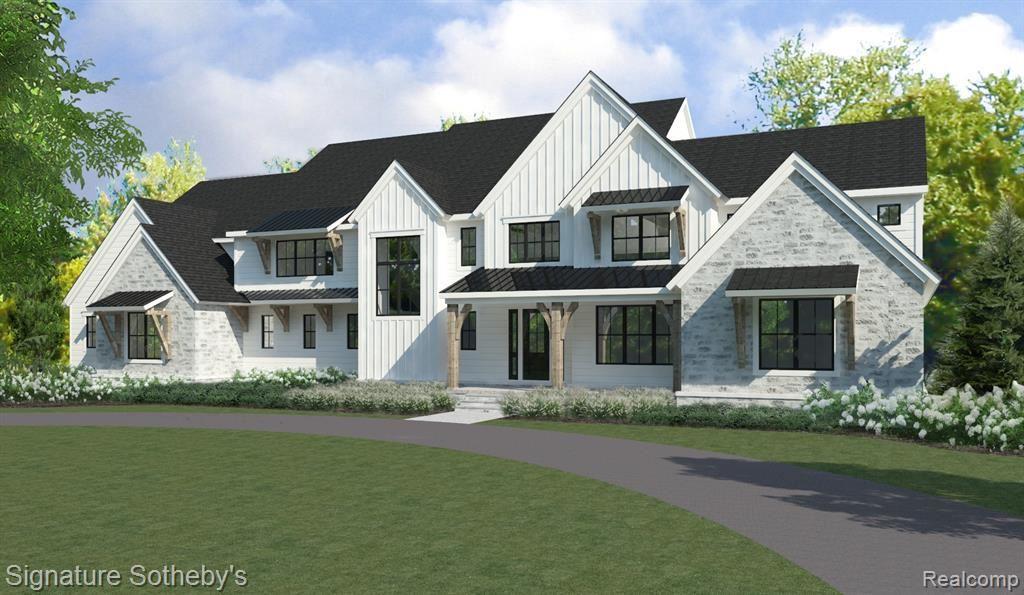Photo for 1355 TROWBRIDGE RD, Bloomfield Hills, MI 48304-2948 (MLS # 21636776)