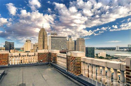 Tiny photo for 525 W LAFAYETTE BLVD, Detroit, MI 48226-3122 (MLS # 40000777)