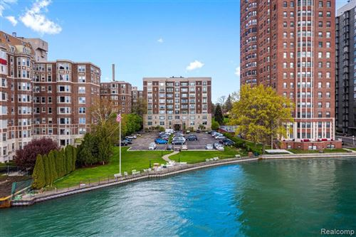 Tiny photo for 8120 E JEFFERSON AVE, Detroit, MI 48214-3973 (MLS # 40169832)