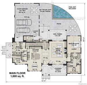 Tiny photo for 32405 BELL VINE TRL, Beverly Hills, MI 48025-2648 (MLS # 21597872)