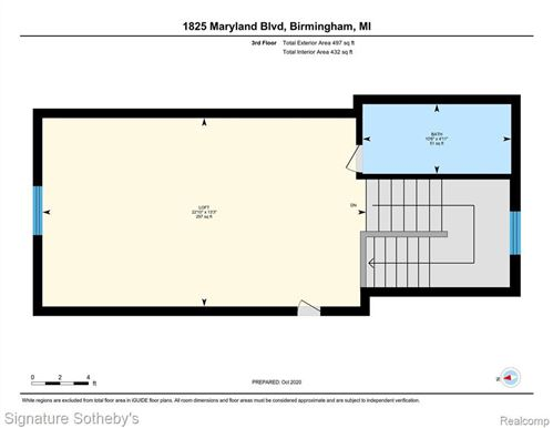 Tiny photo for 1825 MARYLAND BLVD, Birmingham, MI 48009-4119 (MLS # 40121887)