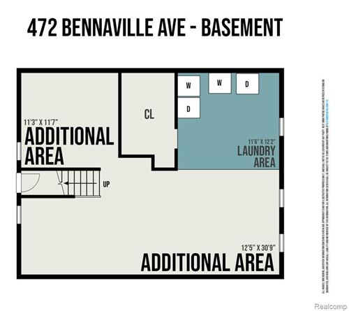Tiny photo for 472 BENNAVILLE AVE, Birmingham, MI 48009-1706 (MLS # 40183924)