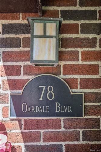 Tiny photo for 78 OAKDALE BLVD, Pleasant Ridge, MI 48069-1037 (MLS # 40121926)