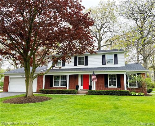Photo of 2859 COURVILLE DR, Bloomfield Hills, MI 48302 (MLS # 40169971)