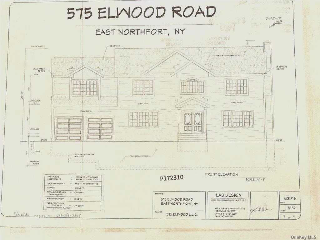 575 Elwood Road, East Northport, NY 11731 - MLS#: 3268052