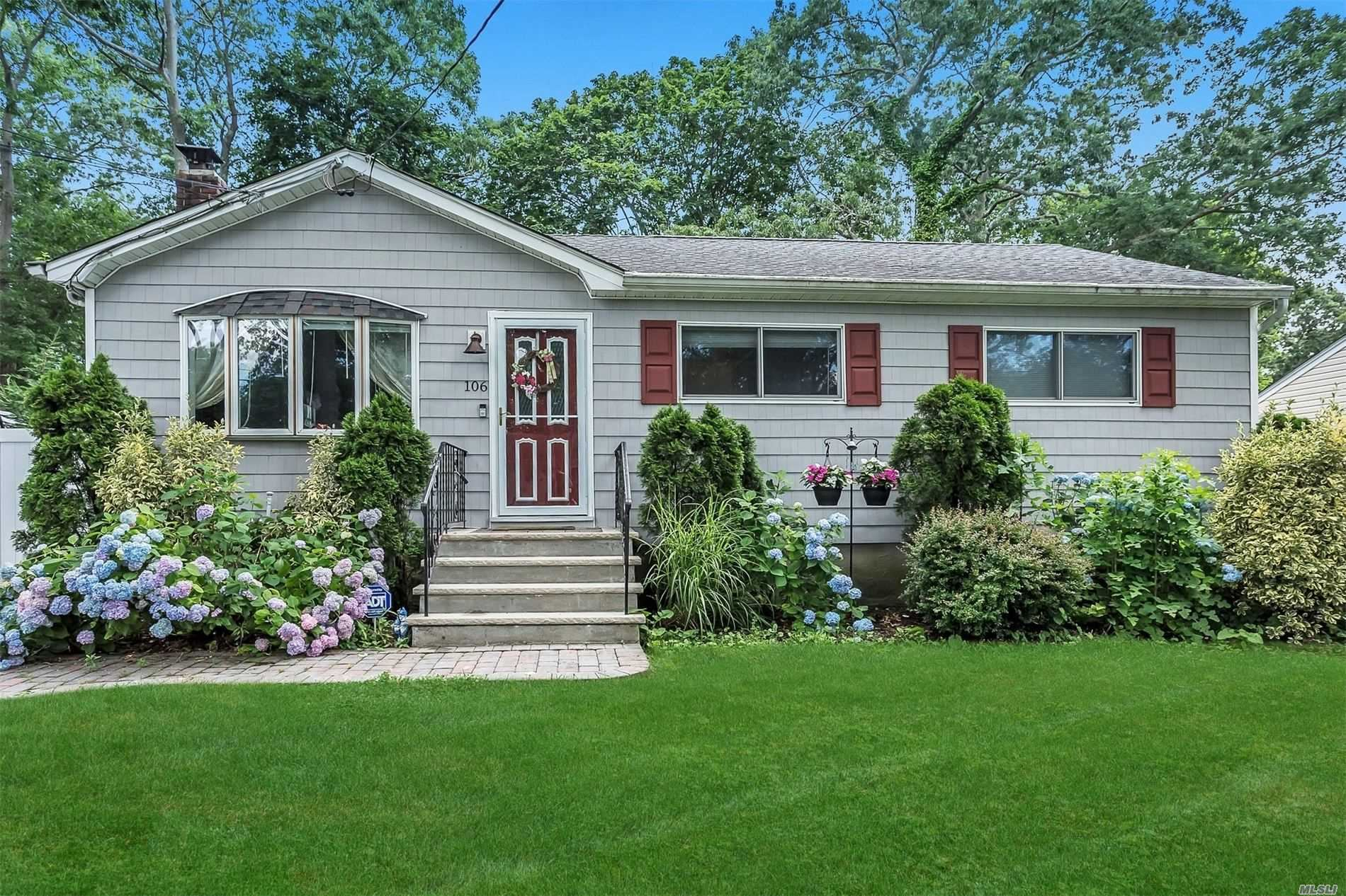 106 Ohls Street, Patchogue, NY 11772 - MLS#: 3225067