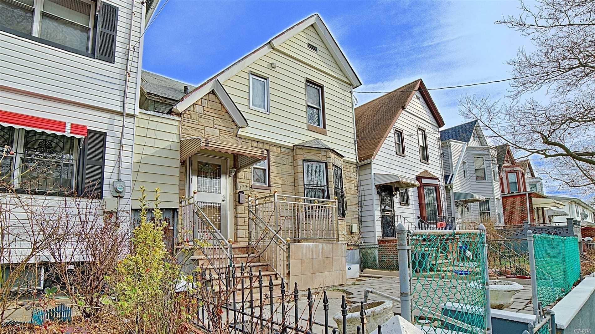 173 Crystal Street, Brooklyn, NY 11208 - MLS#: 3194137