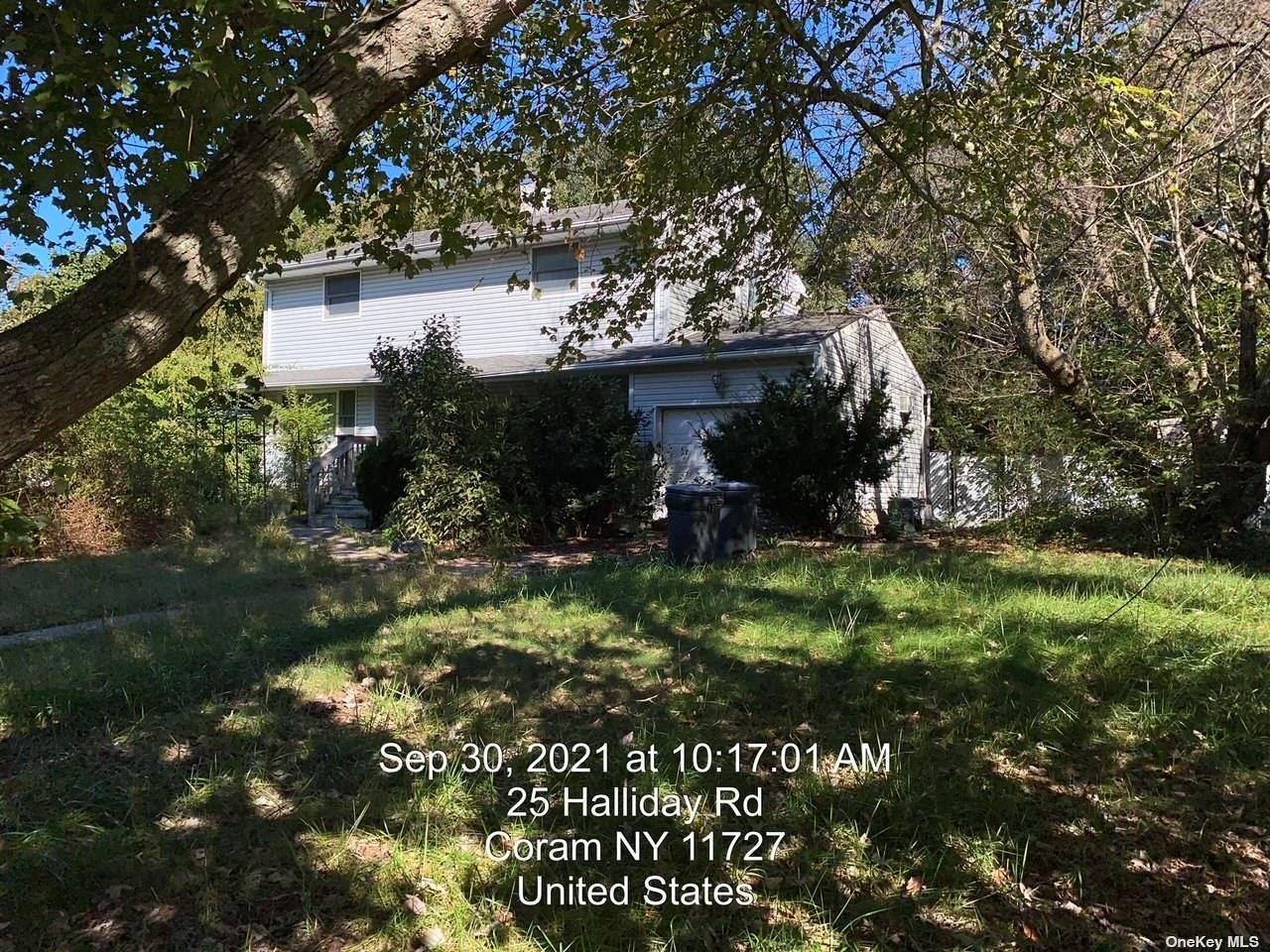 25 Halliday Road, Coram, NY 11727 - #: 3349293