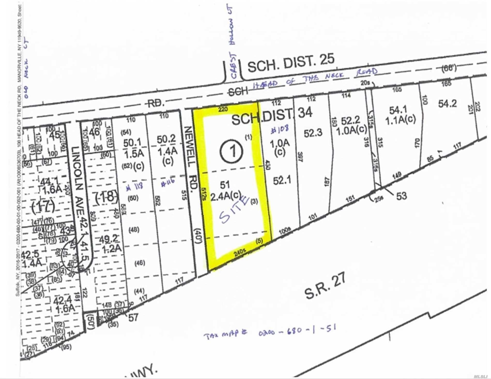 Head Of The Neck Road, East Moriches, NY 11940 - MLS#: 3084299