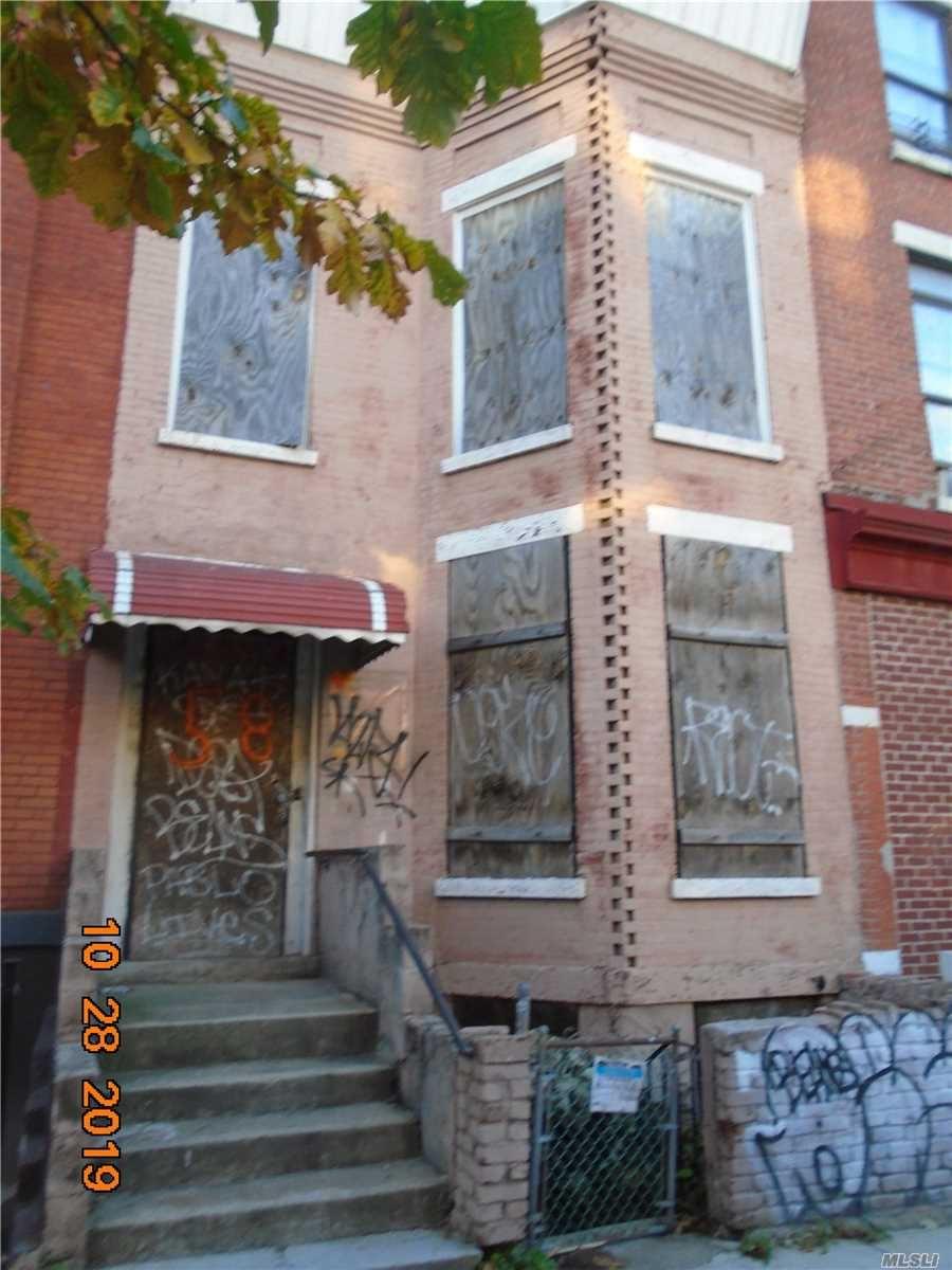 58 Rockaway Avenue, Brooklyn, NY 11233 - MLS#: 3177319