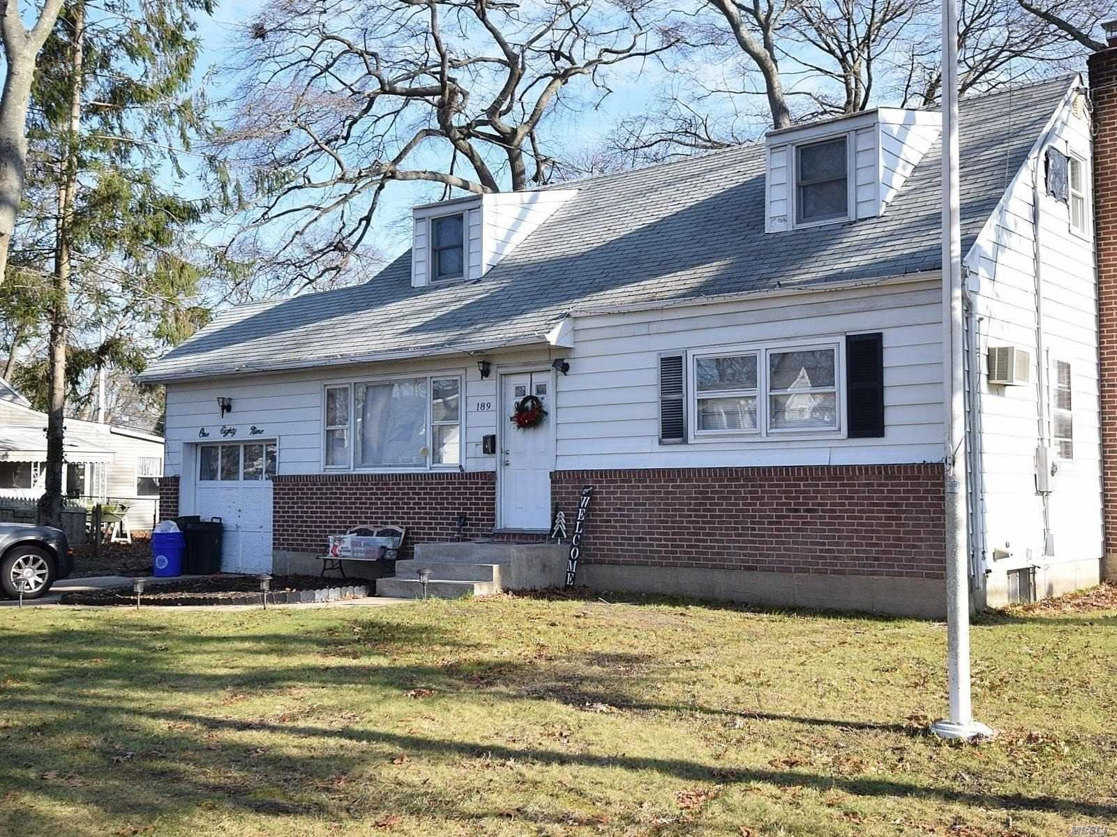 189 Whittier Avenue, N. Babylon, NY 11703 - MLS#: 3183325