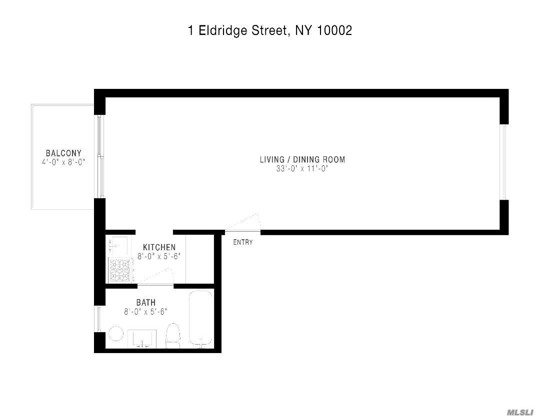 1 Eldridge Street #4A, New York, NY 10002 - MLS#: 3239365