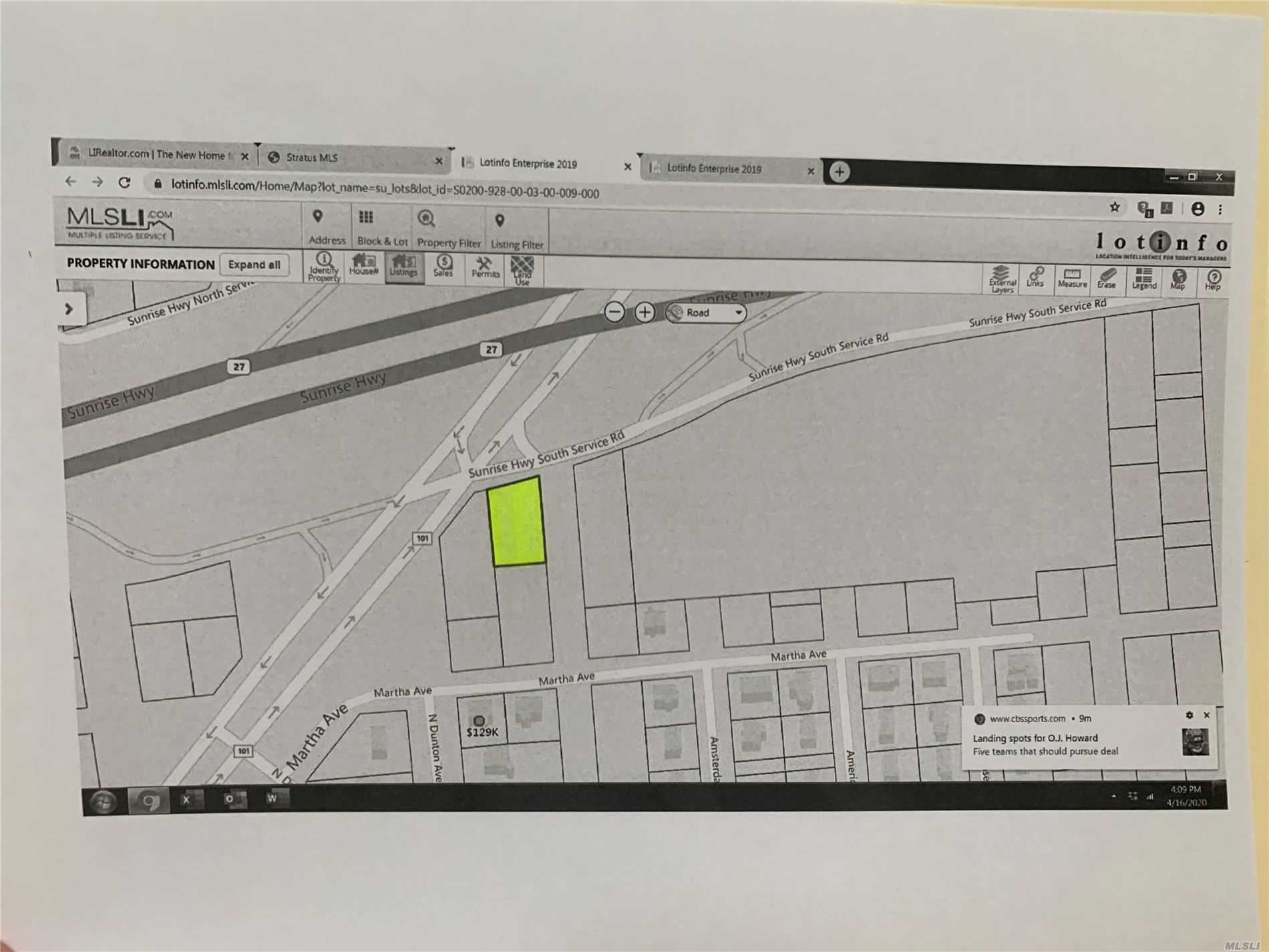 Lot 9 Columbus, Patchogue, NY 11772 - MLS#: 3212369
