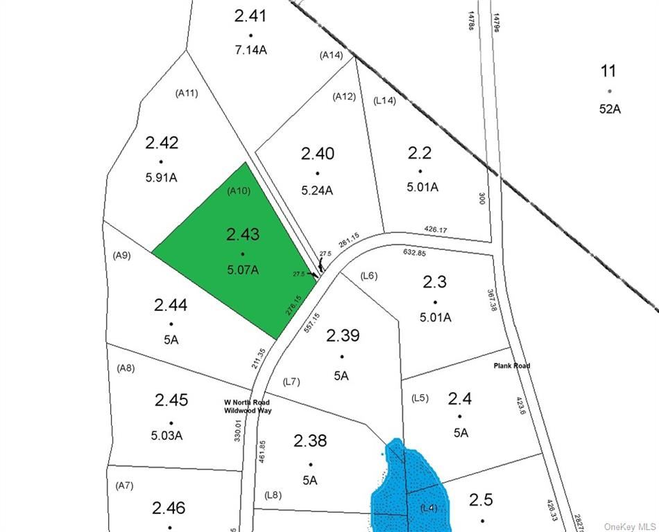 Photo for Lot 2.43 W North Road, Forestburgh, NY 12777 (MLS # H6081443)