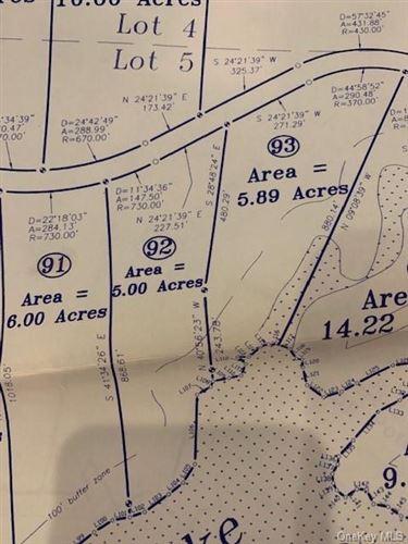 Tiny photo for Lot#92 Mathias Weiden Drive, Narrowsburg, NY 12764 (MLS # H6088462)