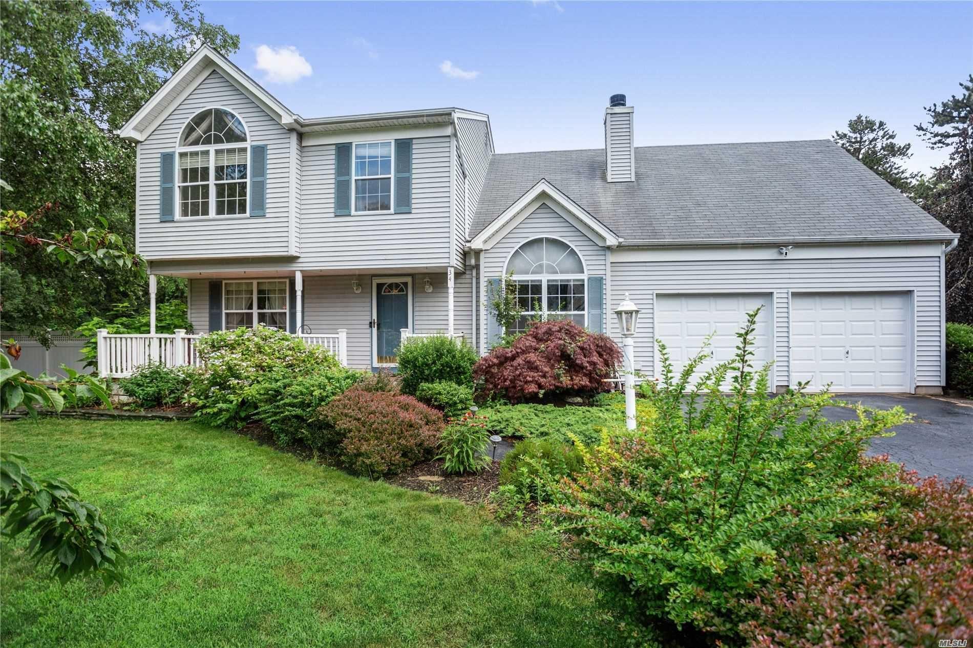 34 Stony Hollow Lane, Ridge, NY 11961 - MLS#: 3232720
