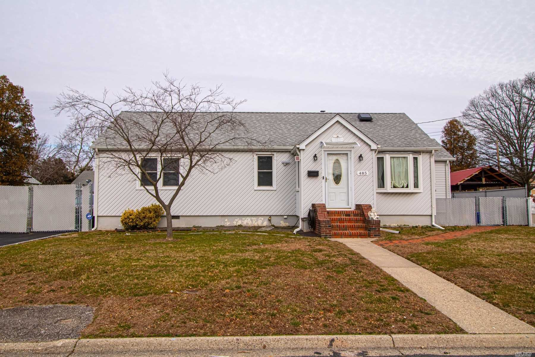 485 Campagnoli Avenue, Copiague, NY 11726 - MLS#: 3201772