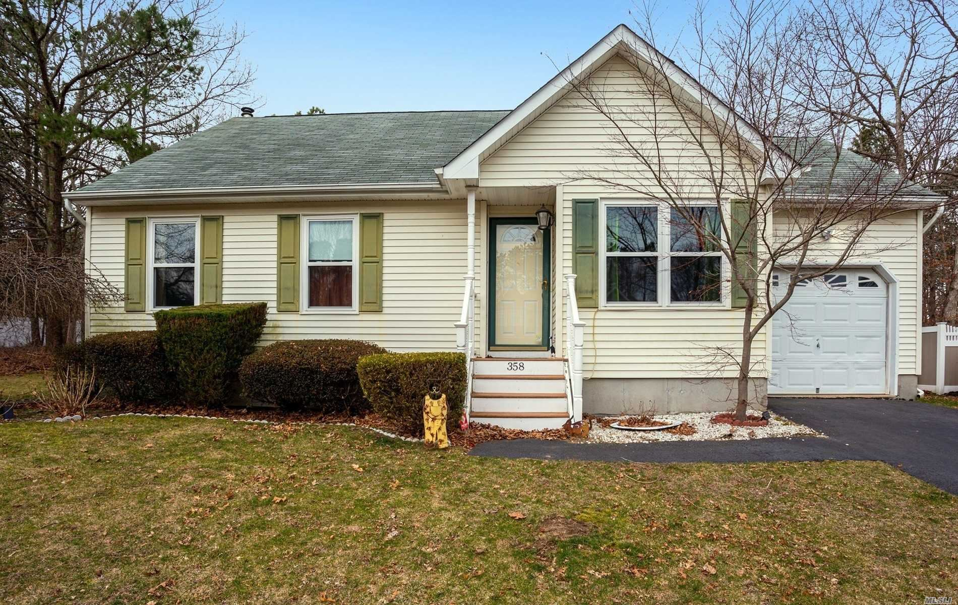 358 Tyler Avenue, Miller Place, NY 11764 - MLS#: 3208780