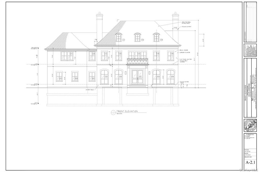 Photo of 80 Garden Road Lot #7, Scarsdale, NY 10583 (MLS # H6111788)