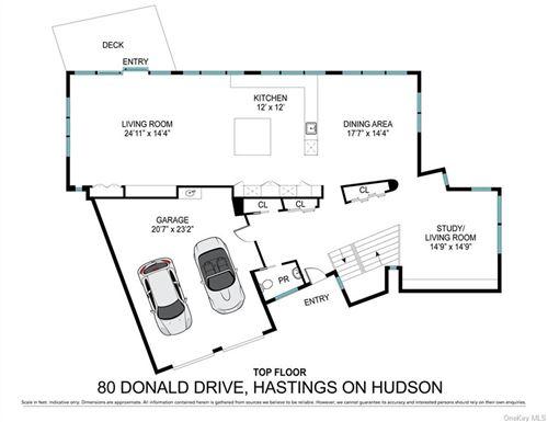 Tiny photo for 80 Donald Drive, Hastings-on-Hudson, NY 10706 (MLS # H6078845)