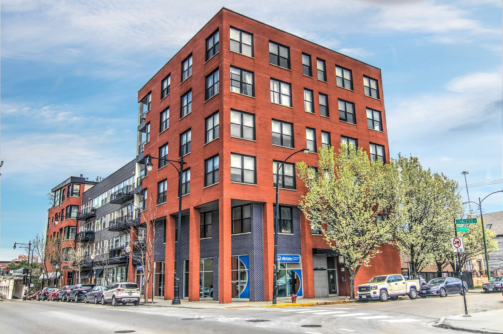 1601 S Halsted Street #307, Chicago, IL 60608 - #: 10705008