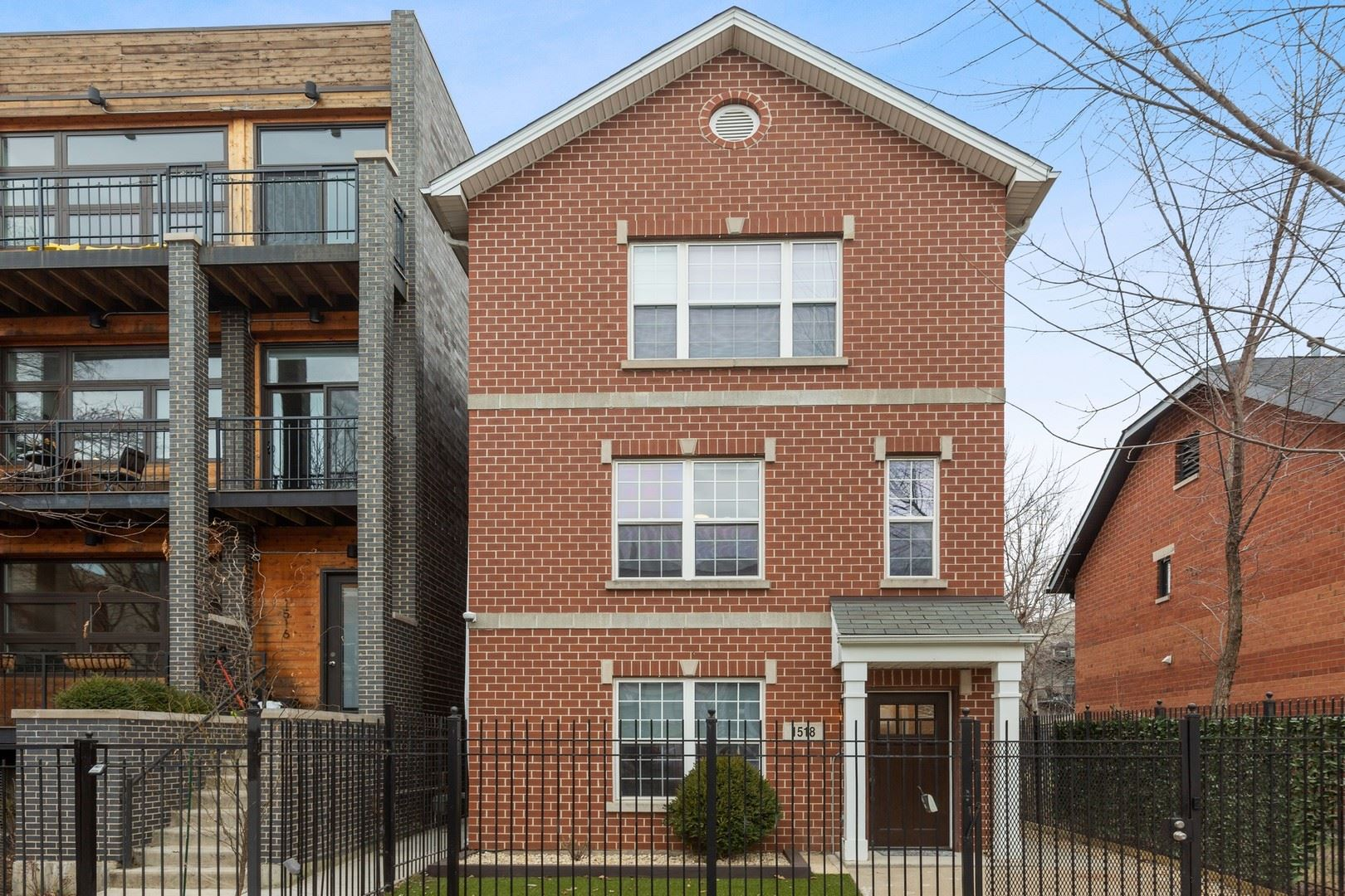 1518 N Rockwell Street, Chicago, IL 60622 - #: 10731019