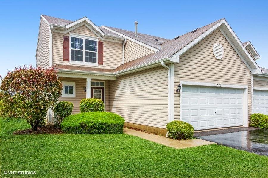 329 Country Brook Lane #1, Harvard, IL 60033 - #: 11185023