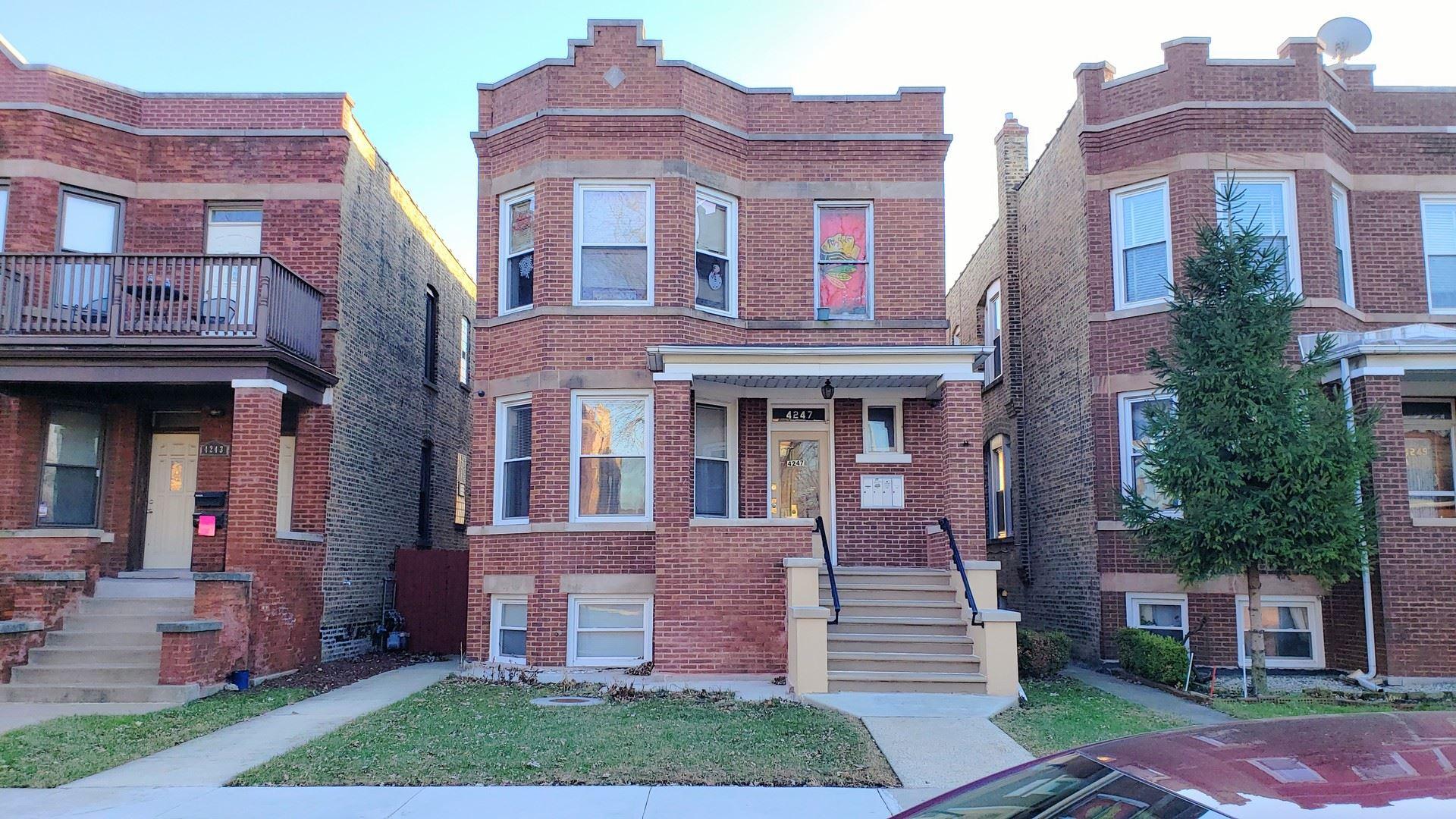 4247 W Melrose Street, Chicago, IL 60641 - #: 10745043
