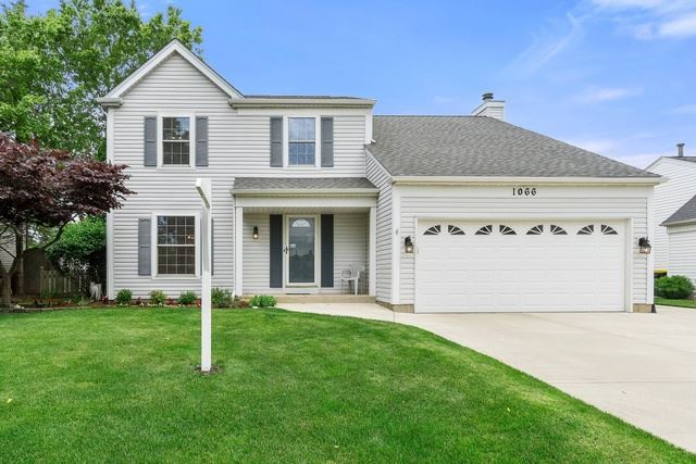 1066 Country Glen Lane, Carol Stream, IL 60188 - #: 10483058