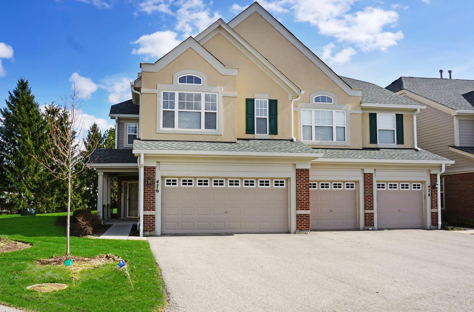 476 Pine Lake Circle #476, Vernon Hills, IL 60061 - #: 10626065