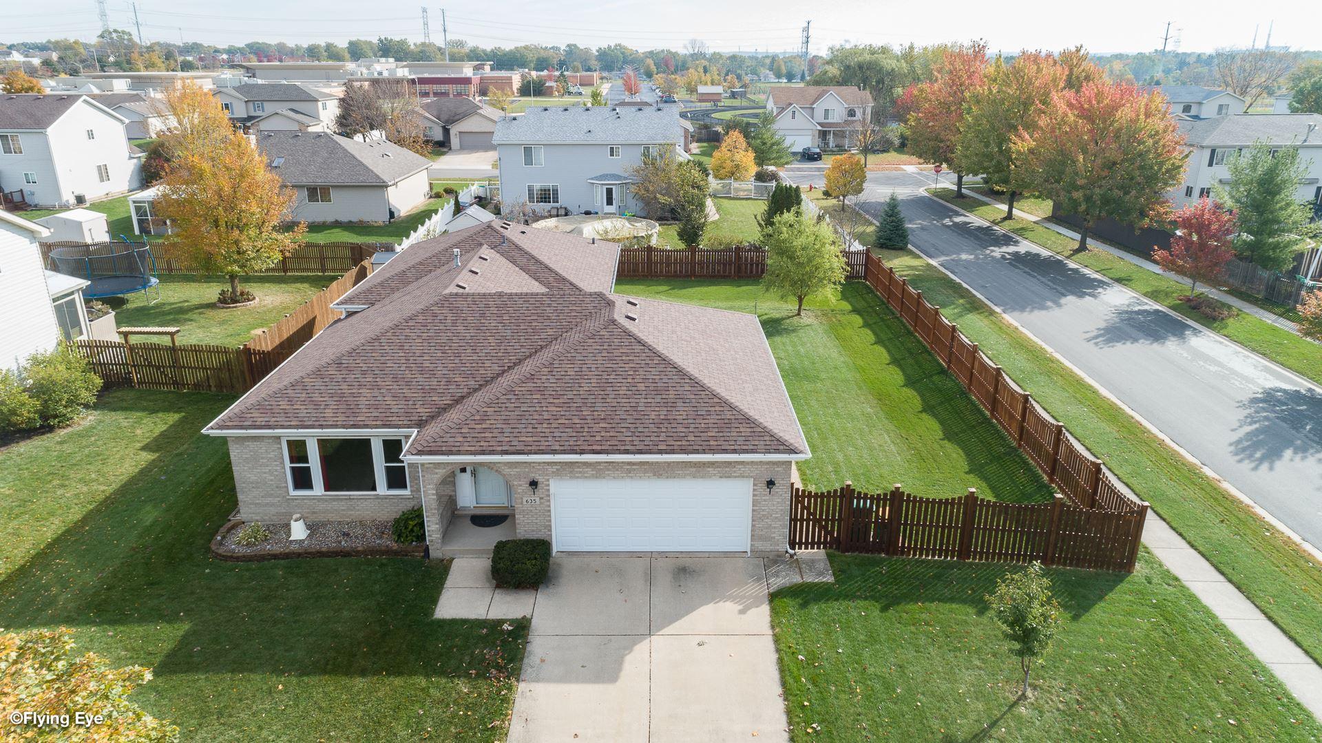 Photo of 635 Huron Drive, Romeoville, IL 60446 (MLS # 10912083)