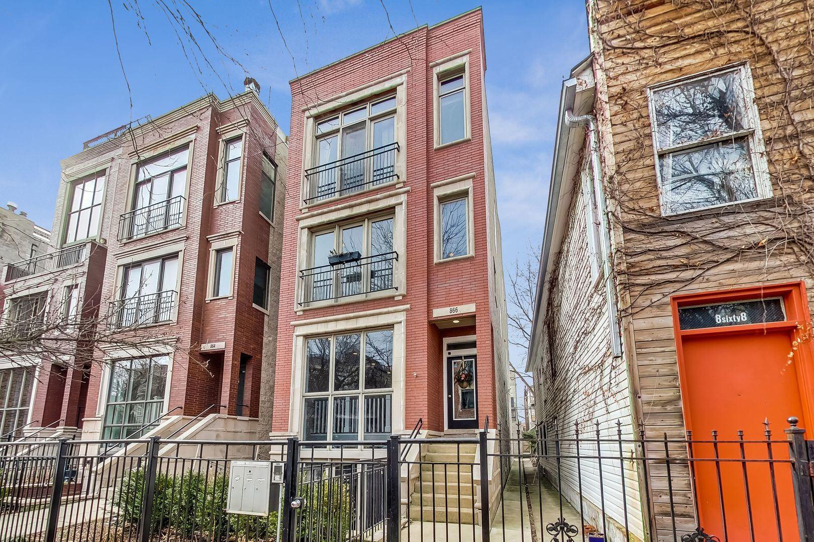 866 N Paulina Street #1, Chicago, IL 60622 - #: 10630086