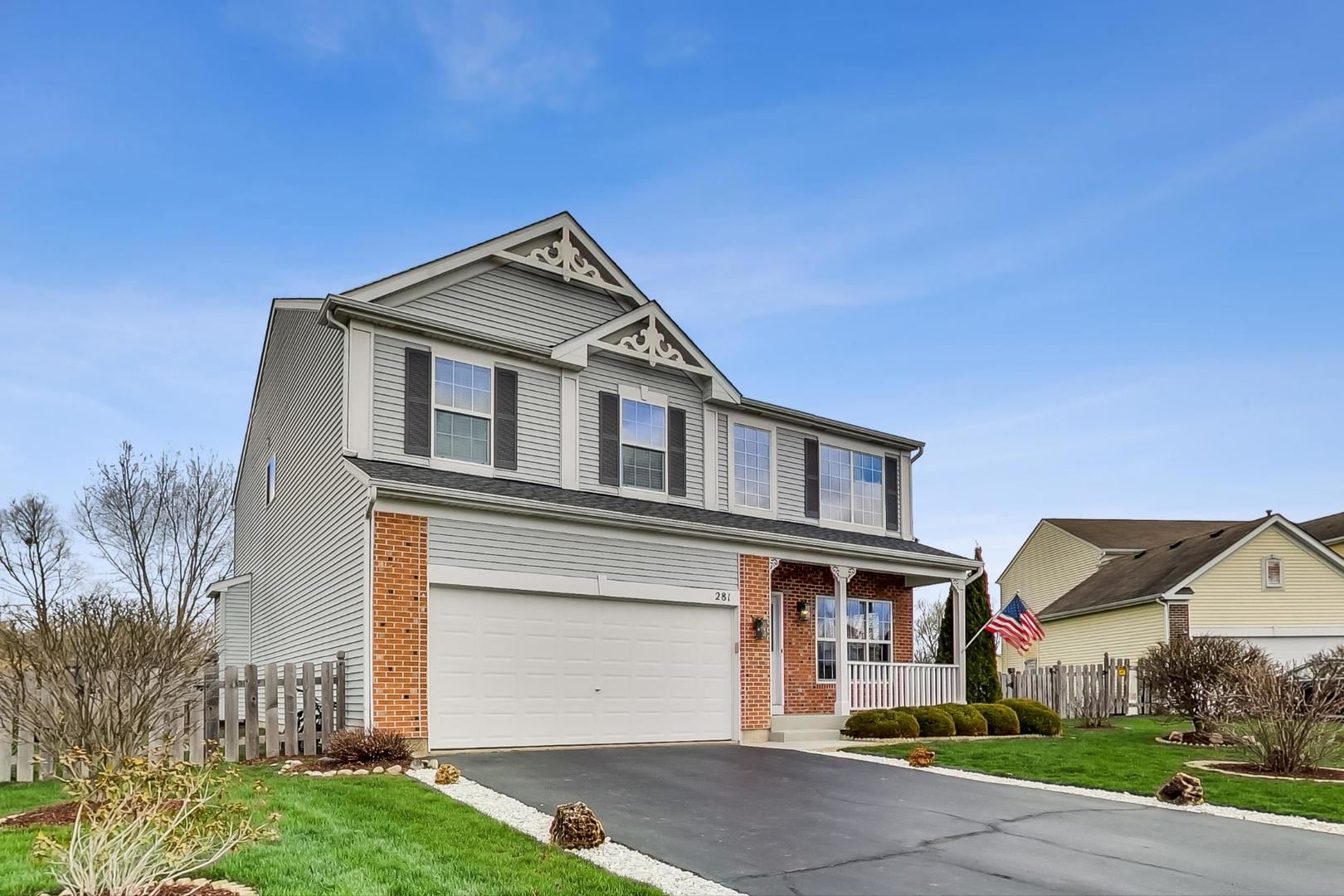 281 CLOVER CHASE Circle, Woodstock, IL 60098 - #: 10638087