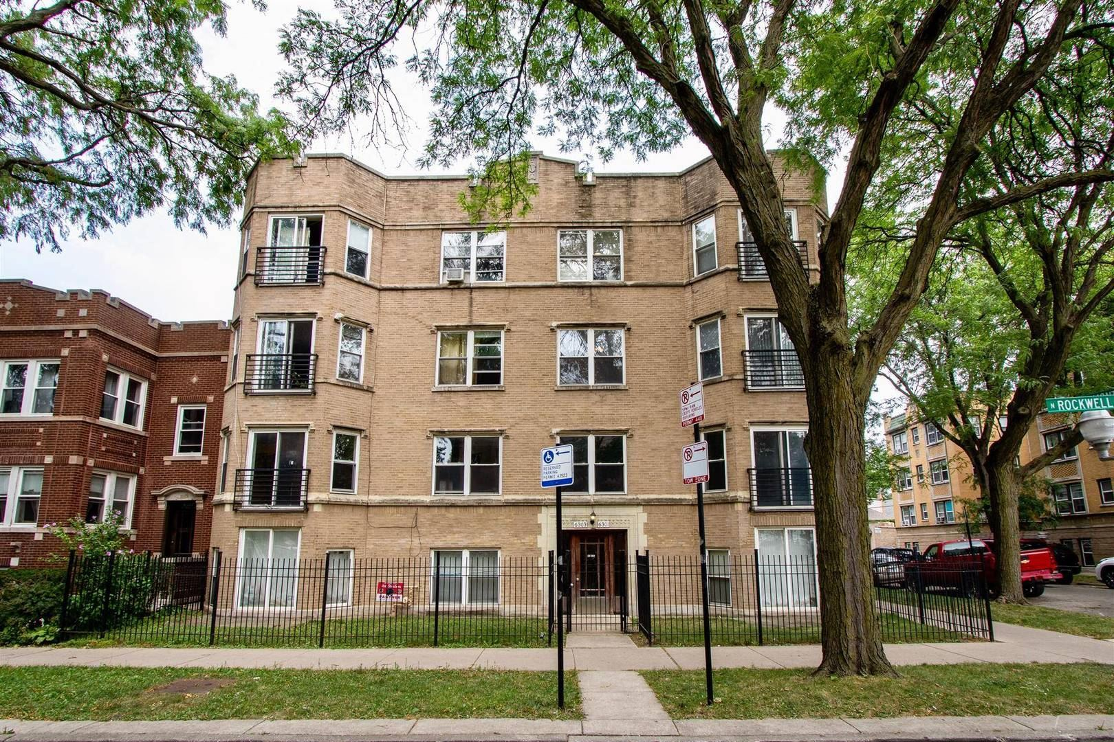 6301 N Rockwell Street #2, Chicago, IL 60659 - #: 11191108