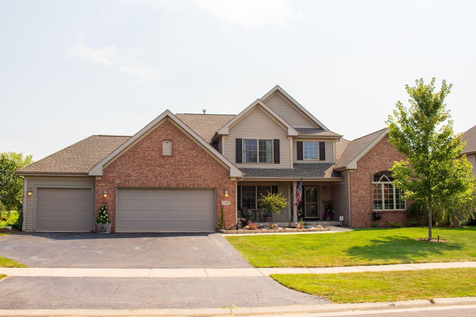 7247 Brimmer Way, Cherry Valley, IL 61016 - #: 10836112
