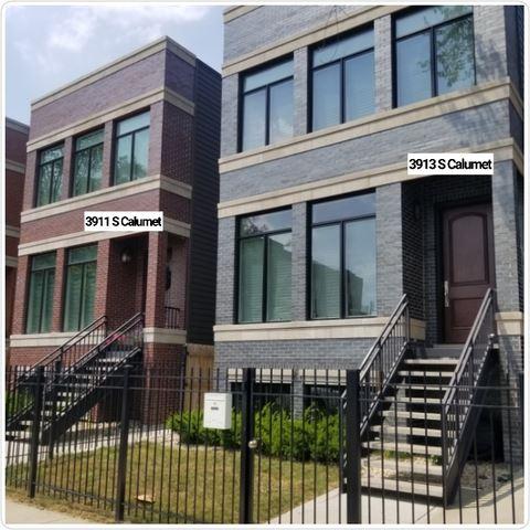 3913 S Calumet Avenue, Chicago, IL 60653 - #: 11031113