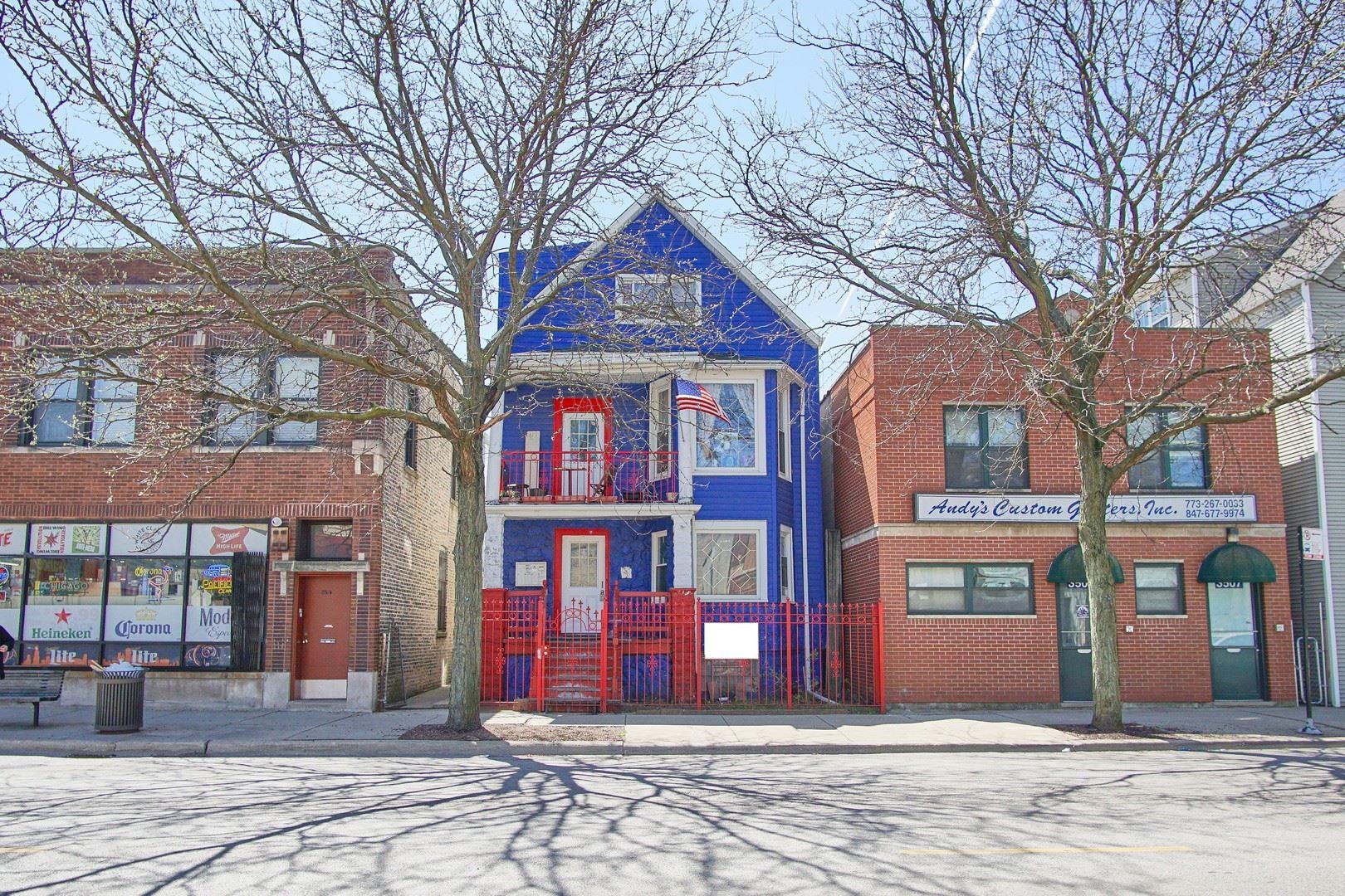 3505 W MONTROSE Avenue, Chicago, IL 60618 - #: 10679116