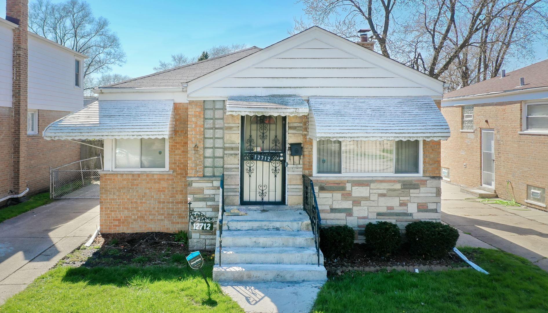 12712 S Elizabeth Street, Calumet Park, IL 60827 - #: 10694135