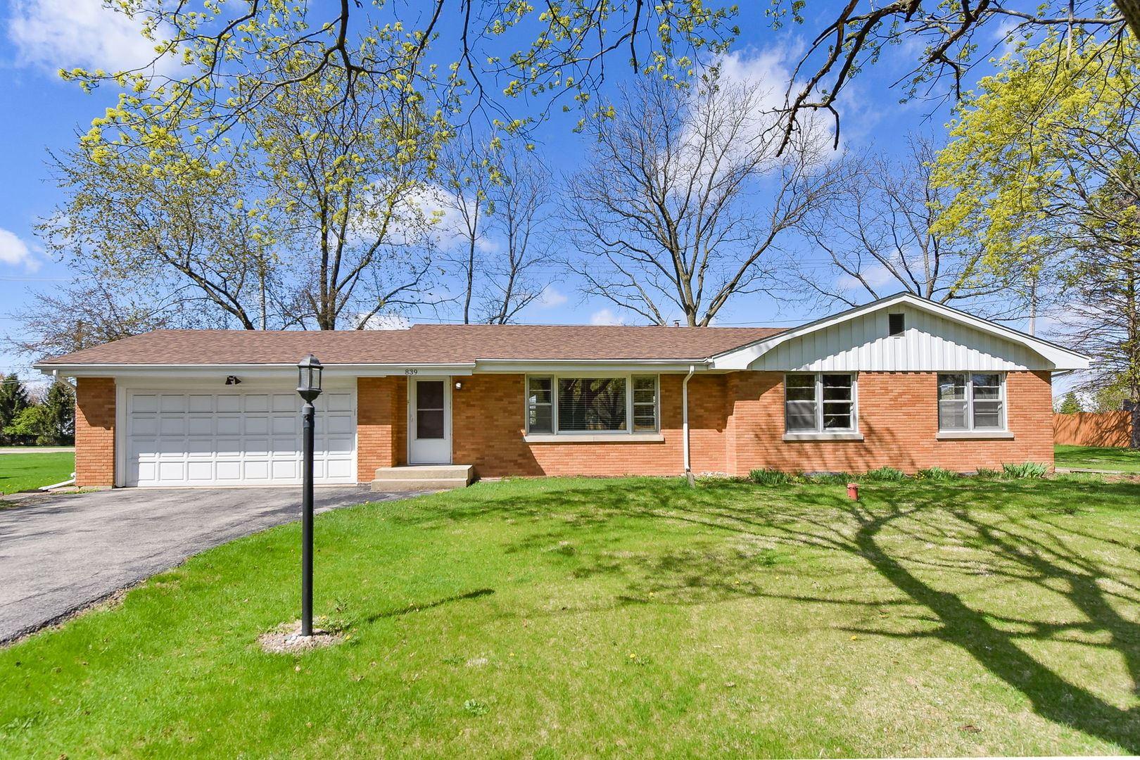 839 Whitlock Avenue, Aurora, IL 60506 - #: 11034138
